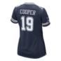 Dallas Cowboys Womens Amari Cooper #19 Nike Navy Game Replica Jersey