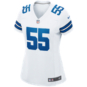 Dallas Cowboys Womens Leighton Vander Esch #55 Nike White Game Replica Jersey