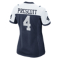 Dallas Cowboys Womens Dak Prescott #4 Nike Game Replica Throwback Jersey