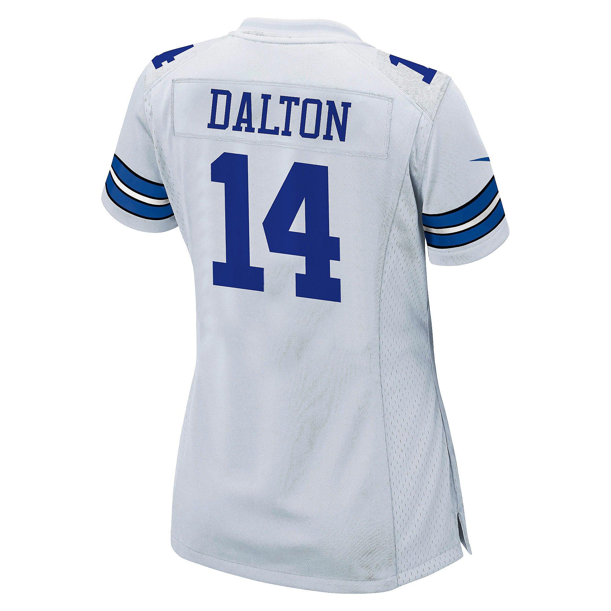 Dallas Cowboys Womens Andy Dalton #14 Nike White Game Replica ...