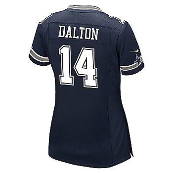 Dallas Cowboys Womens Andy Dalton #14 Nike Navy Game Replica Jersey