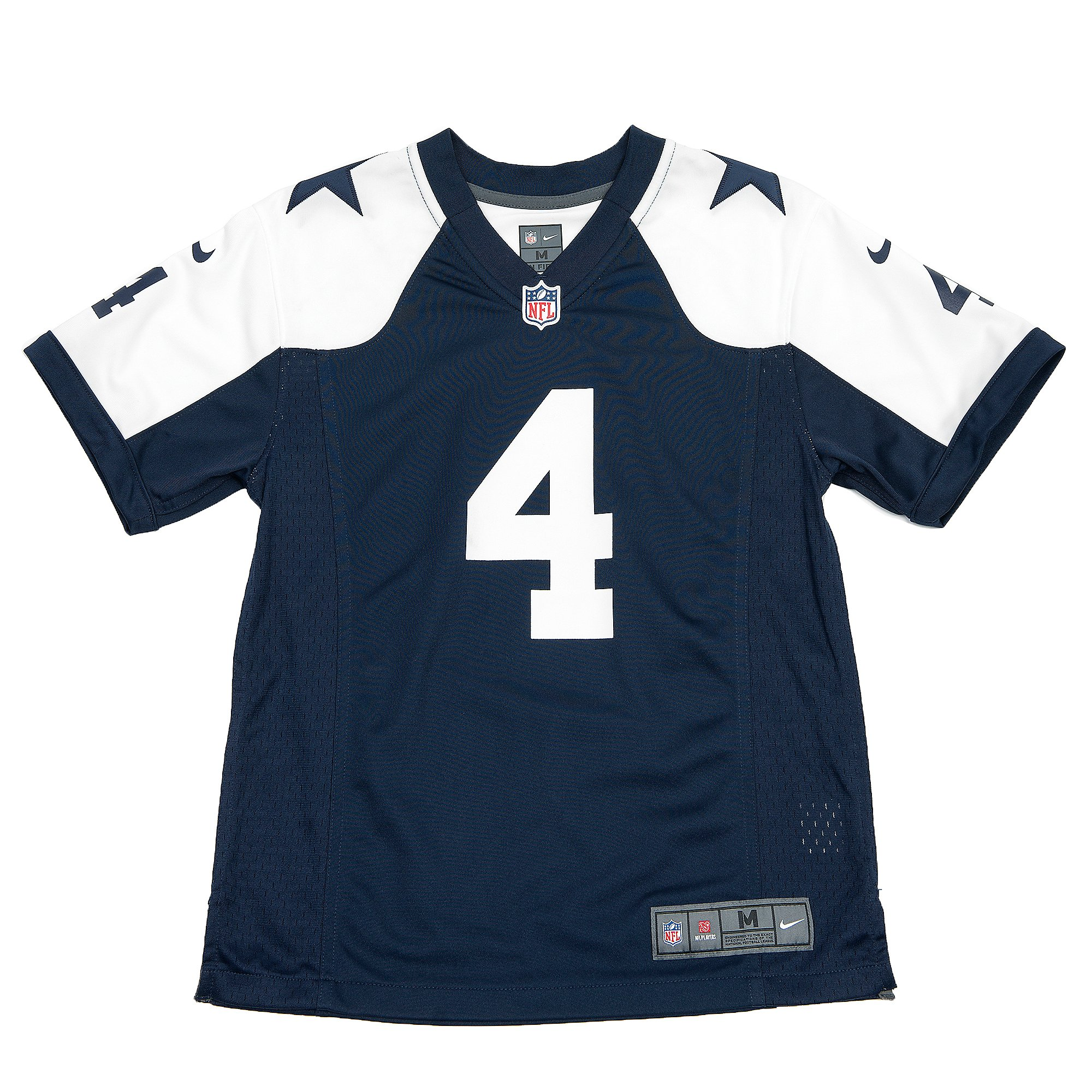 Dallas Cowboys Youth Dak Prescott #4 Nike Game Replica Throwback ...