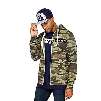 Dallas Cowboys Mens Nieuport Full-Zip Jacket