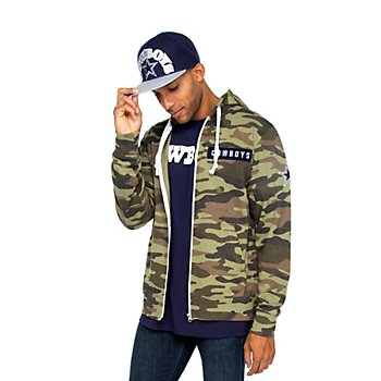 Dallas Cowboys Mens Nieuport Full-Zip Jacket