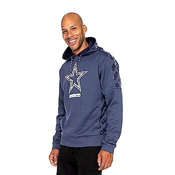 Dallas Cowboys Mens Typhoon Fleece Pullover Hoodie