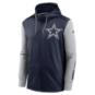 Dallas Cowboys Nike Mens Left Chest Mascot Full-Zip Therma Hoodie