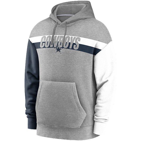 Dallas Cowboys Nike Mens Wordmark Heritage Long Sleeve Hoodie