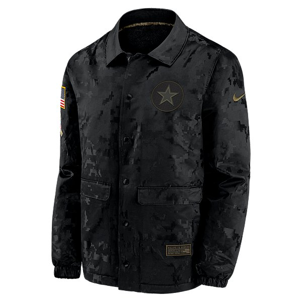 Dallas Cowboys Nike Salute to Service Mens Team Logo Jacket