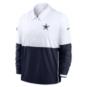 Dallas Cowboys Nike Mens Team Logo Lightweight Long Sleeve Coach Jacket