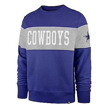 Dallas Cowboys '47 Brand Mens Interstate Crew Sweatshirt