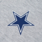 Dallas Cowboys Tommy Hilfiger Mens Color Block Quarter-Zip Pullover Hoodie