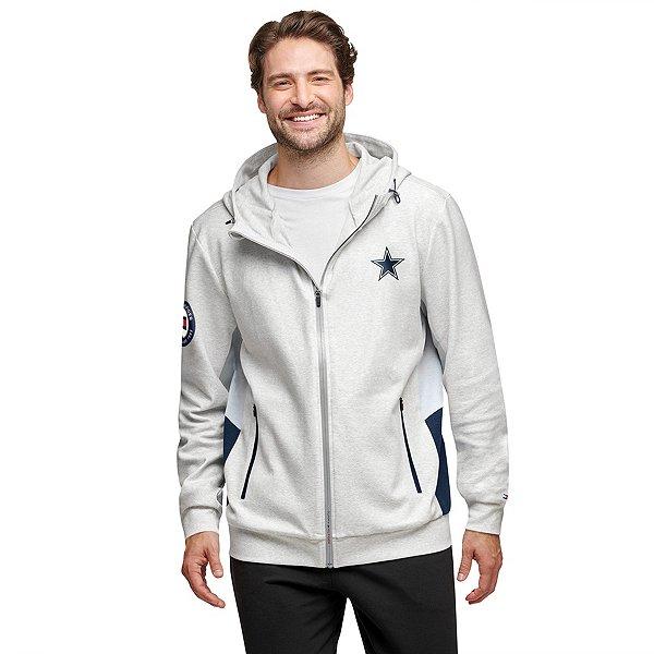 Dallas Cowboys Tommy Hilfiger Mens Color Block Full Zip Hoodie