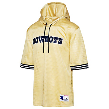 Dallas Cowboys Mitchell & Ness Mens Unbeaten Mesh Hoodie
