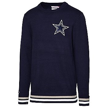 Dallas Cowboys Mitchell & Ness Mens Team History Sweater