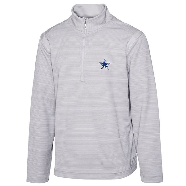 Dallas Cowboys Tommy Bahama Mens Sport Tidal Stripe Half-Zip Pullover