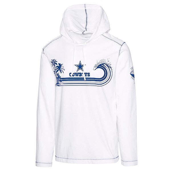 Dallas Cowboys Tommy Bahama Mens Sport Surfin Turf Long Sleeve Hoodie