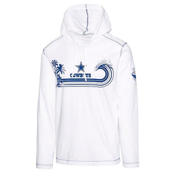 Dallas Cowboys Tommy Bahama Mens Sport Surfin Turf Long Sleeve Hoodie