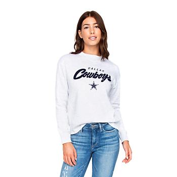 Dallas Cowboys Womens Jaclyn Fleece Sweatshirt