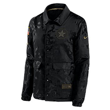 Dallas Cowboys Nike Womens Team Logo Salute to Service Jacket