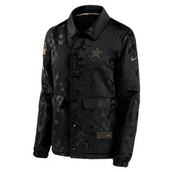 Dallas Cowboys Nike Womens Team Logo Salute to Service Jacket