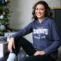 Dallas Cowboys Womens Alia Open Hem Fleece Pullover Hoodie