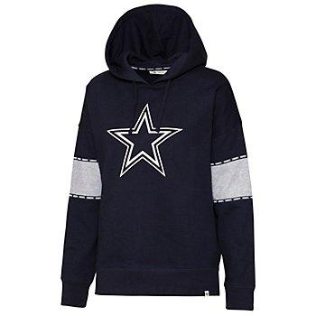 Dallas Cowboys '47 Brand Womens Sporty Charlie Hoodie