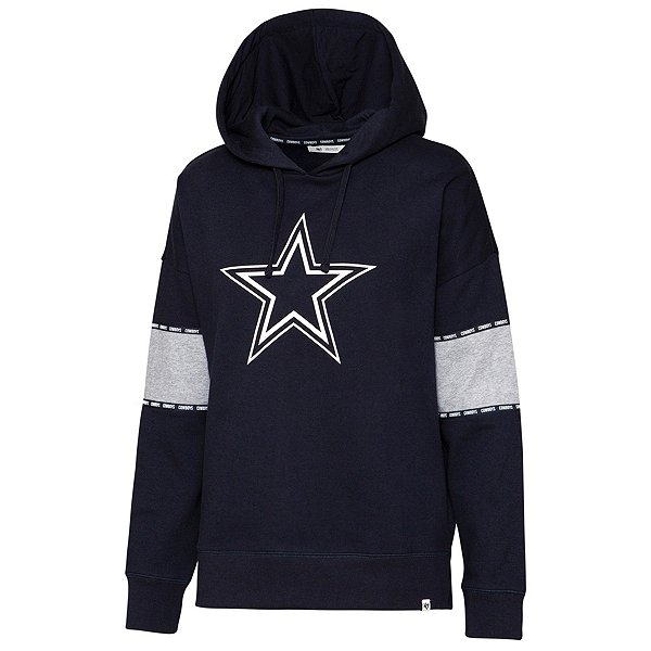 Dallas Cowboys '47 Brand Womens Sporty Charlie Hoodie