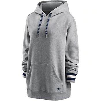 Dallas Cowboys WEAR By Erin Andrews Womens Fleece Pullover Hoodie