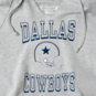Dallas Cowboys Team LJ Womens Cropped Hoodie