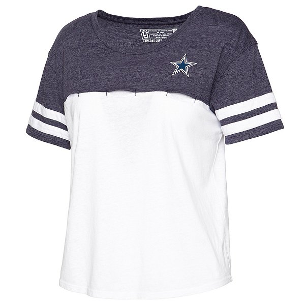 Dallas Cowboys Team LJ Womens Football Crop Top