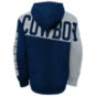 Dallas Cowboys Kids Quarter Back Sneak Sublimated Fleece Hoodie