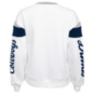 Dallas Cowboys Juniors Check Down Cut Out Fleece Sweatshirt