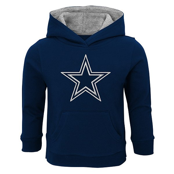 Dallas Cowboys Toddler Prime Pullover Fleece Hoodie