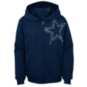 Dallas Cowboys Youth Defender Full Zip Hoodie