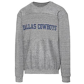 Dallas Cowboys Alta Gracia Unisex Reverse Block Fleece Sweatshirt