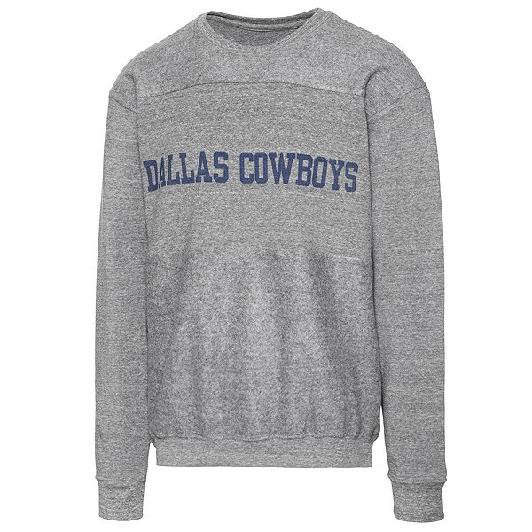 Dallas Cowboys Alta Gracia Unisex Reverse Block Fleece Sweatshirt