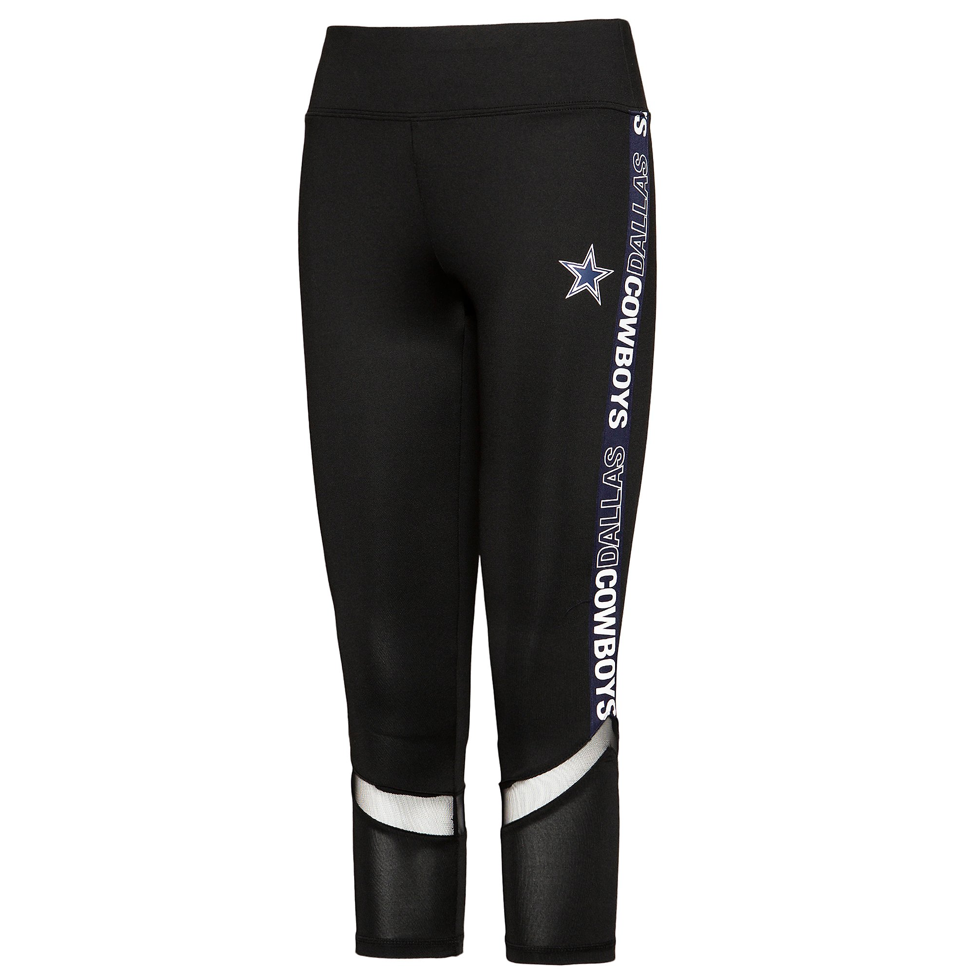 Dallas Cowboys Womens Elektra High-Waisted Legging