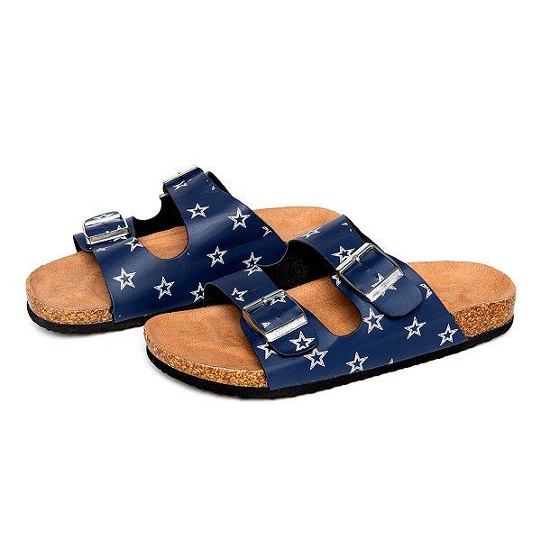 Dallas Cowboys Womens Mini Print Sandals
