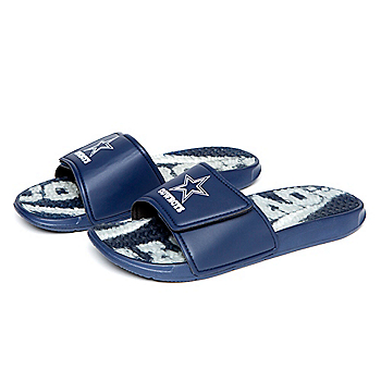 Dallas Cowboys Mens Gel Slide Sandals