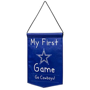 Dallas Cowboys My First Banner