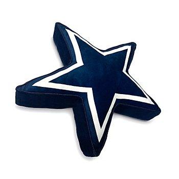 Dallas Cowboys Star Plushette 5-Points Neck Pillow
