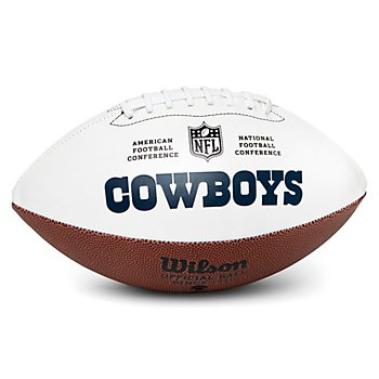 Dallas Cowboys Wilson Embroidered Team Autograph Football