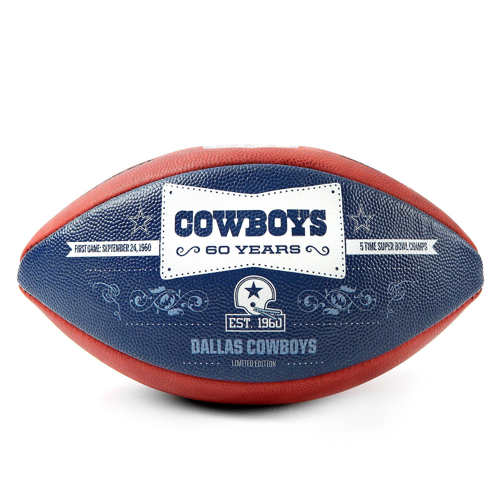 Dallas Cowboys Wilson 1960 Anniversary Football