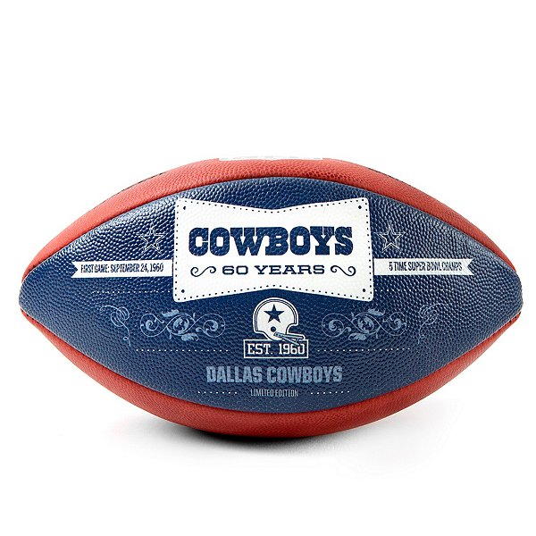Dallas Cowboys Wilson 1960 Anniversary Football