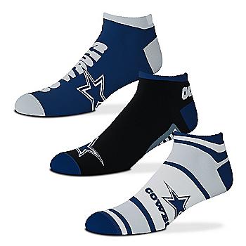 Dallas Cowboys Show Me The Money Socks Set of 3