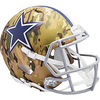 Dallas Cowboys Riddell Camo Speed Authentic Helmet