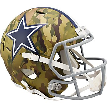 Dallas Cowboys Riddell Camo Speed Replica Helmet