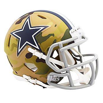 Dallas Cowboys Riddell Camo Speed Mini Helmet