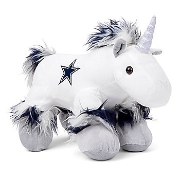 Dallas Cowboys Fuzzy Unicorn