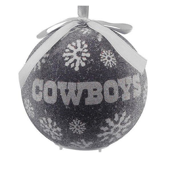 Dallas Cowboys Navy LED Ornament